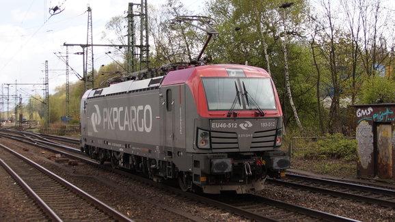 PKP Cargo Vectron 193 512 Hamburg Harburg