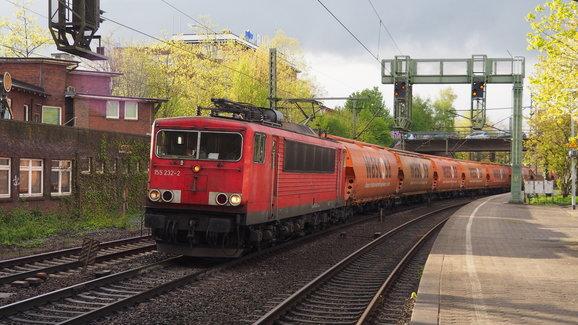 BR 155 232-2 Hamburg Harburg