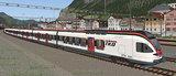 Simtrain Gotthard Panorama Express route_