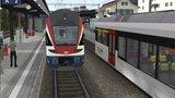 Simtrain FahrDienst 6 Unterwegs mit KISS und THURBO am Walensee und Rhein_