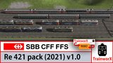 SBB Re 421 - 2021 Pack_