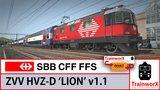 SBB HVZ -D - Lion  Dubbeldekker_