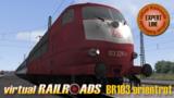 vR-DB BR 103 OrientLange + Interregio 80er Jahre_7