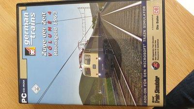 ( MSTS ) German Railroads Züge der zeit Vol.4 Rheingold 1963