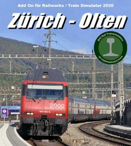 B42 Rail Route Zurich - Olten   TS2020