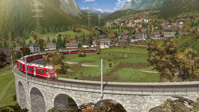 Bernina Line: Poschiavo to Tirano