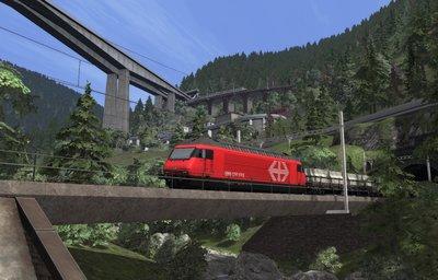 Gotthardbahn Route - Erstfeld - Bellinzona