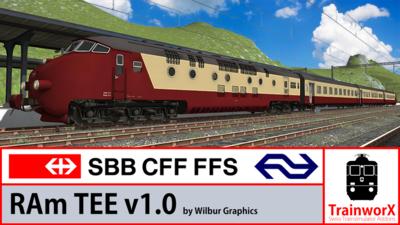 Trainworx SBB RAm TEE / NS DE IV