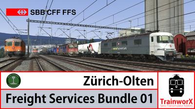 Trainworx Zurich - Olten Freightpack 01
