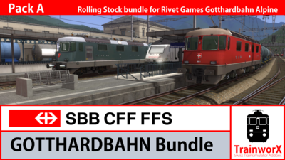 Trainworx Gotthard Bundle A