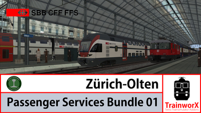 Trainworx Zürich - Olten Passenger Bundle 01