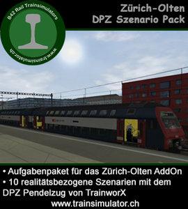 Scenariopack Zurich - Olten DPZ Shuttle 450