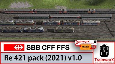 SBB Re 421 - 2021 Pack