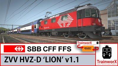 SBB HVZ -D - Lion  Dubbeldekker