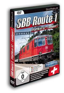 Simtrain SBB Route 1