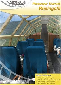 3DZug treinset Rheingold 1962