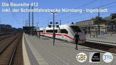 Route Munchen - Nurnberg V1.02 INCL DB ICE4