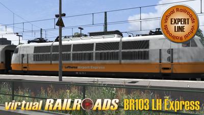 vR-DB BR 103 + Lufthansa Express
